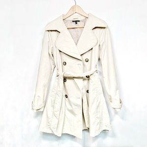 Classic Light Beige Trench Coat